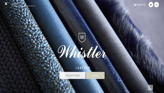 Whistler Leather Home Page