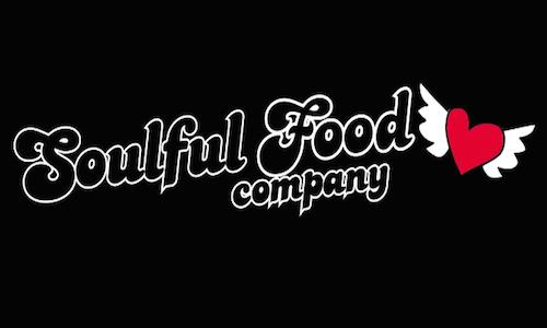 Soulful Food Animated Logo Black Background