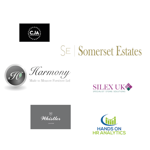cja financial, somerset estates, harmony made to measure furniture, silex uk, whistler leather, hands on hr analytics, logo, brand, figa digital, figa digital solutions